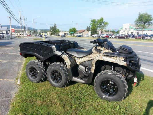 Can-am Outlander 6X6 1000xt 2015
