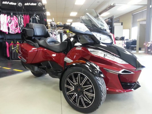 can-am roadster spyder rt-s special serie 2015
