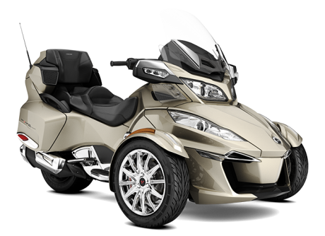 Canam Spyder Rt limited 2017