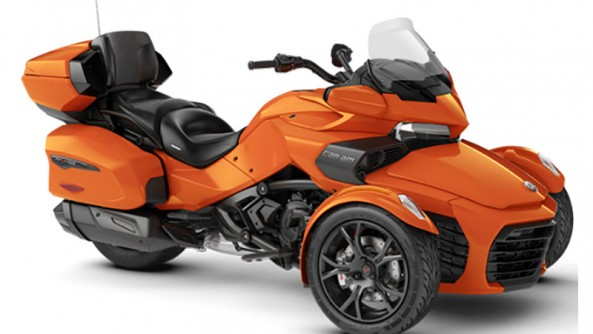 CAN-AM SPYDER F3 LIMITED ORANGE/NOIR 2019 LIQUIDATION