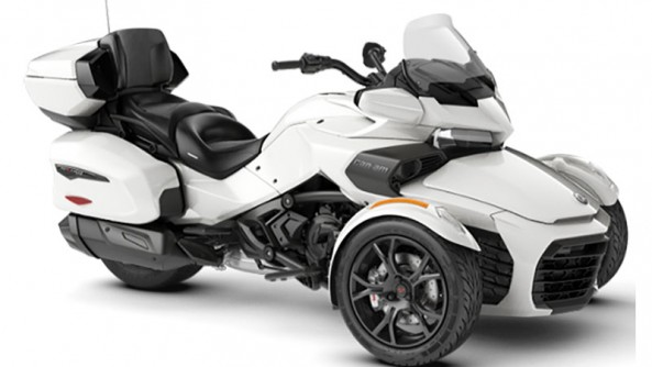 CAN-AM SPYDER F3 LIMITED NEUF 2019 BLANC/NOIR LIQUIDATION