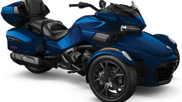 CAN-AM SPYDER F3 LIMITED BLEU/NOIR 2019 LIQUIDATION
